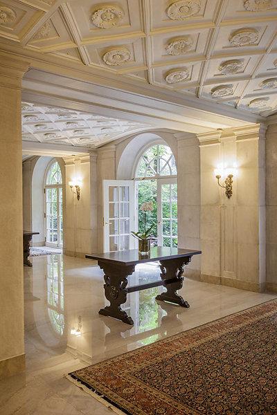 Astor Court Lobbies Restoration