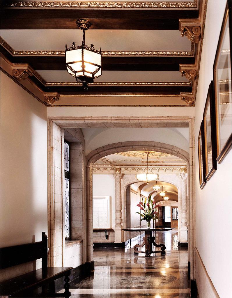 Renaissance Revival Lobby Restoration