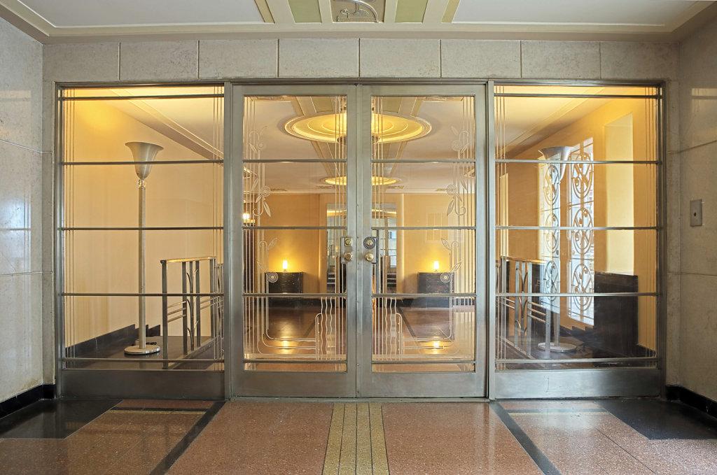 Restoration of Art Deco Lobby